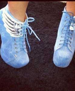 Ailes Argent pour Chaussures Shwings