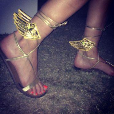Ailes Dorées pour Chaussures Shwings