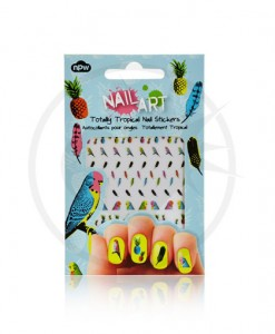 "Stickers Ongles Sous les Tropiques ""Nail Art"" 