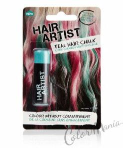 """Tiza para el pelo turquesa """"Hair Artist"""""""
