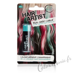 """Hair Artist"" Craie à Cheveux Turquoise"