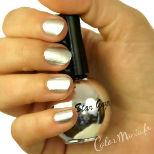 Souvent Vernis à Ongles de l'Espace : Chrome Argent | Color-Mania UC15