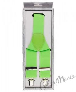 Bretelles Couleur Vert Fluo