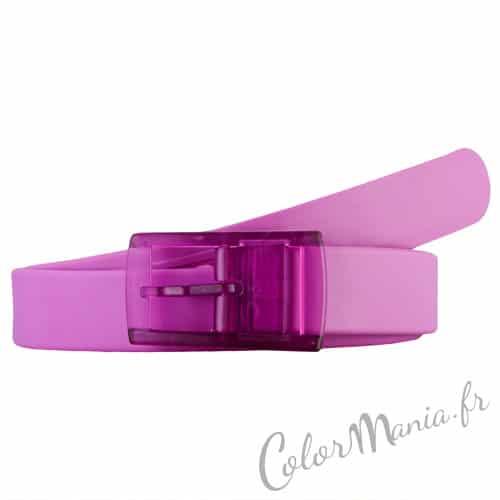 Correa de silicona púrpura violeta