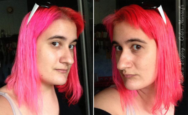 Hair Color Pink Candy - Direcciones