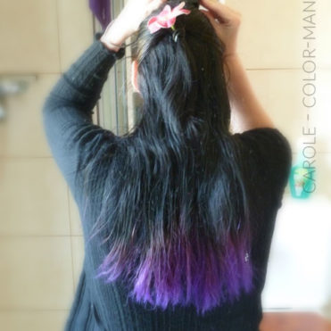 Carole – Coloration Cheveux Violet Directions | Color-Mania