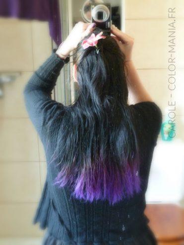 Carole - Violet Hair Color Directions | Color-Mania