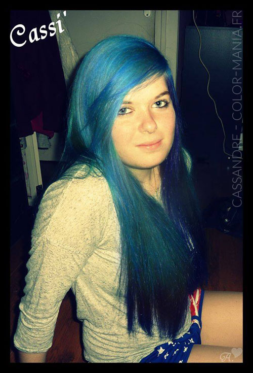 Cassandre - Atlantic Blue Hair Colour - Indicazioni | Color-Mania
