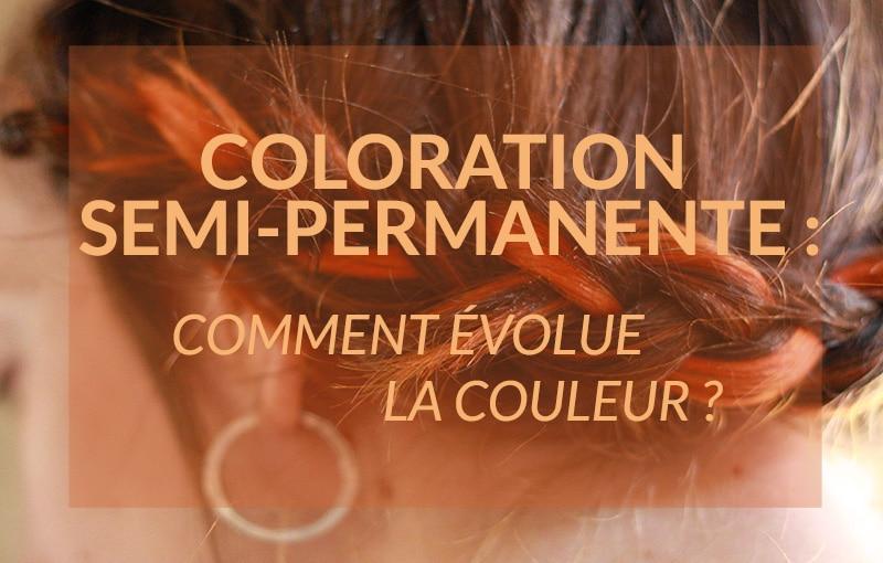 Coloration cheveux semi permanente rouge