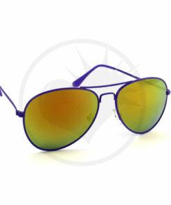 Aviador púrpura gafas de sol bebidas aceite | Color-Mania