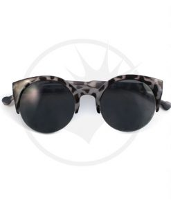 Occhiali da sole Cat Eye Tortoise Shell Black & White | Color-Mania