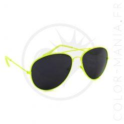 Aviator Yellow Fluo Gafas de sol | Color-Mania