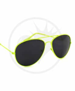 Aviator Yellow Fluo Gafas de sol | Color-Mania