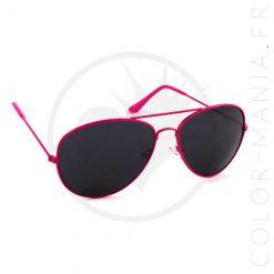 Gafas de sol rosadas del aviador | Color-Mania