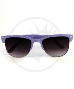 Lunettes de Soleil type Clubmaster Violet Lilas | Color-Mania