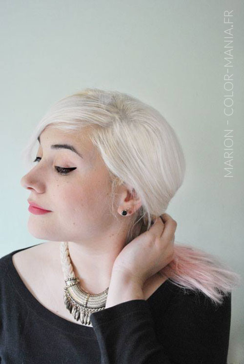 Marion - Coloration Cheveux Rose Baby – Stargazer | Color-Mania