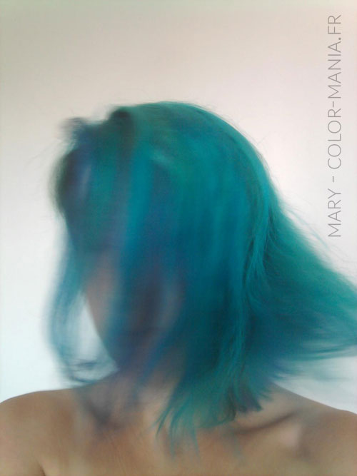 Mary - Coloration Cheveux Turquoise - Directions | Color-Mania
