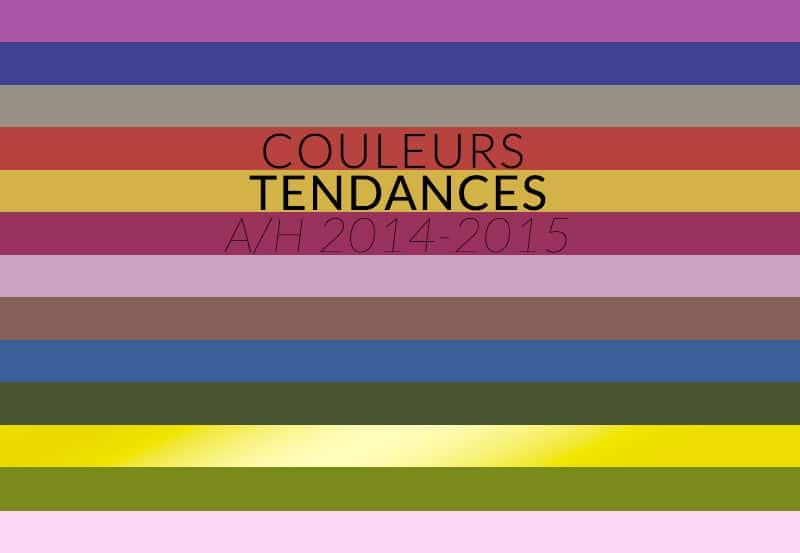 Couleurs tendances automne hiver 2014 2015 color mania - Couleur tendance 2015 ...
