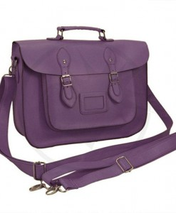 Satchel - Sac Cartable Violet | Color-Mania