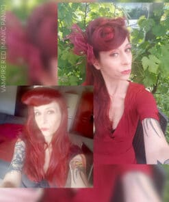 Merci Sigrid :) Coloration Cheveux Rouge Vampire Red - Manic Panic | Color-Mania