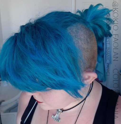 Merci @Kokio_faolan :) Coloration Cheveux Vert Voodoo Forest - Manic Panic | Color-Mania