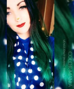 Merci @elodiedhotellecedric :) Coloration Cheveux Vert Venus Envy - Manic Panic | Color-Mania
