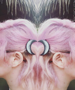 Merci @feirvidardottir :) Coloration Cheveux Rose Cotton Candy Pink UV - Manic Panic | Color-Mania