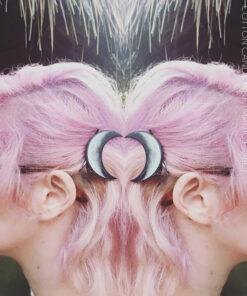 Merci @feirvidardottir :) Coloration Cheveux Rose Cotton Candy Pink UV - Manic Panic | Color-Mania