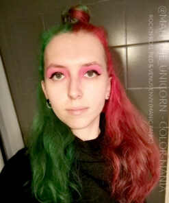 Merci @mah_the_unicorn :) Coloration Cheveux Vert Venus Envy - Manic Panic | Color-Mania