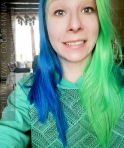 Merci Adeulinerdwk :) Coloration Cheveux Vert Electric Lizard UV - Manic Panic | Color-Mania