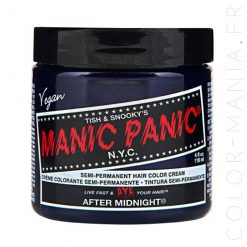 After Midnight Blue Hair Coloring - Manic Panic | Color-Mania