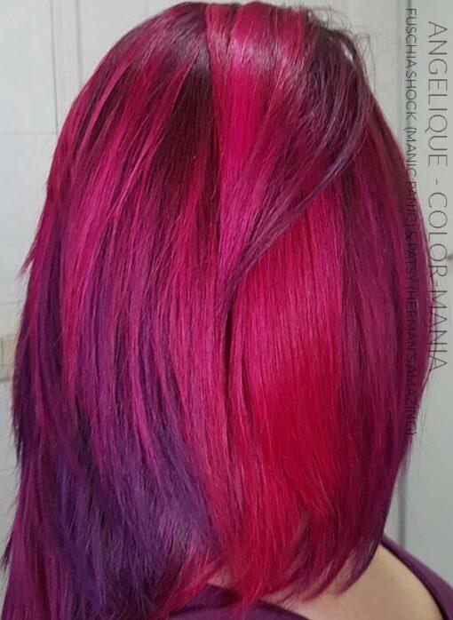Merci Angélique :) Coloration Cheveux Rose Fuschia Shock - Manic Panic | Color-Mania