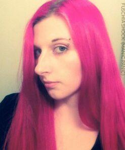 Merci Audrey :) Coloration Cheveux Rose Fuschia Shock - Manic Panic | Color-Mania