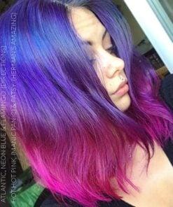 Merci Audrey :) Coloration Cheveux Bleu Electrique – Directions | Color-Mania