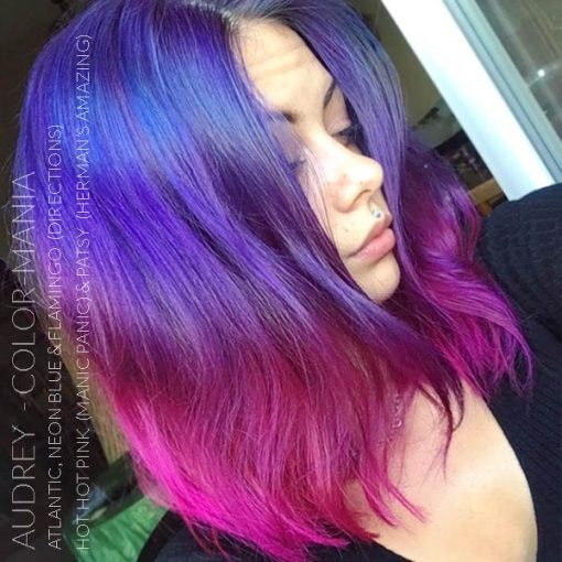 Gracias Audrey :) Hair Color Blue Electric - Direcciones | Color-Mania