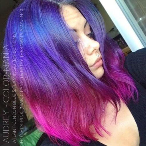Danke Audrey :) Haarfarbe Blue Electric - Anfahrt | Farblich Mania