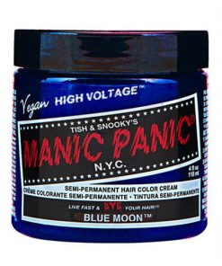 Coloration Cheveux Lune Bleue - Manic Panic | Color-Mania