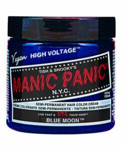 Coloration Cheveux Lune Bleue - Manic Panic | Color-Mania