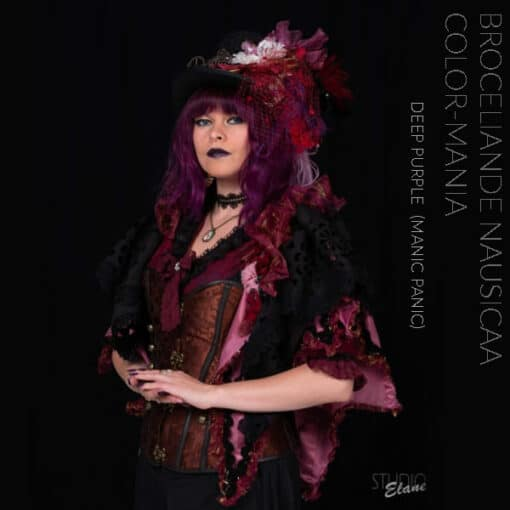 Merci Broceliande Nausicaa :) Coloration Cheveux Violet Deep Purple Dream - Manic Panic
