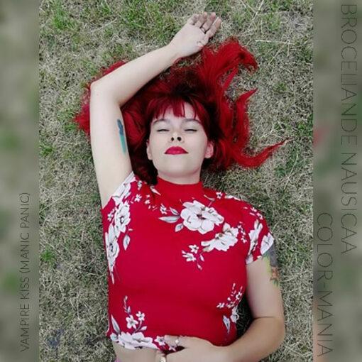 Merci Broceliande Nausicaa :) Coloration Cheveux Rouge Vampire's Kiss - Manic Panic | Color-Mania