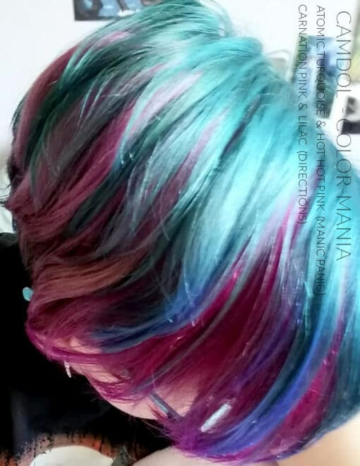 Merci Camdol :) Coloration Cheveux Rose Bonbon - Directions | Color-Mania
