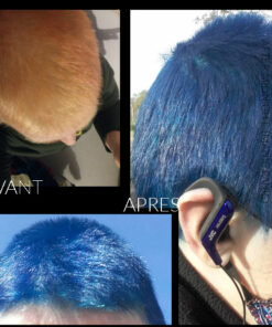 Merci Caroline :) Coloration Cheveux Bleu After Midnight - Manic Panic | Color-Mania
