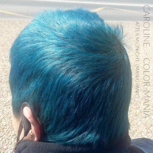 Merci Caroline :) Coloration Cheveux Bleu After Midnight - Manic Panic | Color-Mania