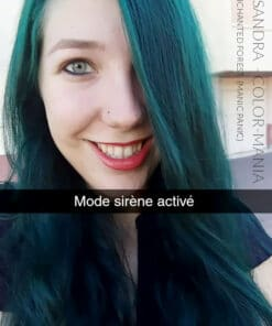 Merci Cassandra :) Coloration Cheveux Vert Enchanted Forest – Manic Panic | Color-Mania