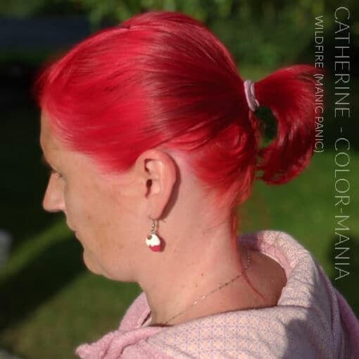 Merci Catherine :) Coloration Cheveux Rouge Wildfire - Manic Panic | Color-Mania