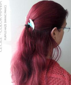 Merci Cecile :) Coloration Cheveux Violet Purple Haze - Manic Panic | Manic Panic