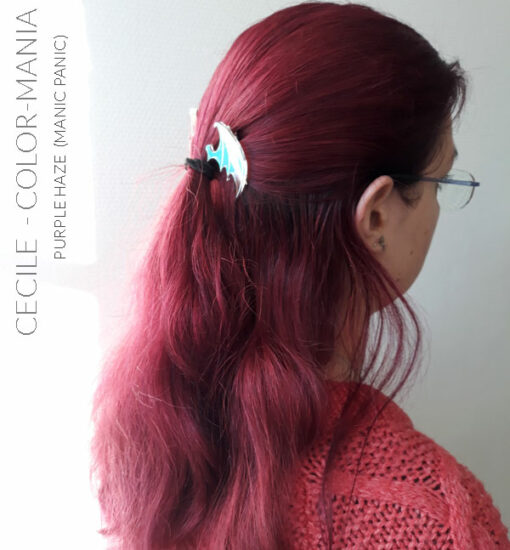 Merci Cecile :) Coloration Cheveux Violet Purple Haze - Manic Panic | Manic Panic