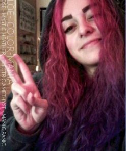 Merci Chloé ! :) - Coloration Cheveux Cleo Rose - Mystic Heather - Electric Amethyst - Manic Panic - Color-Mania