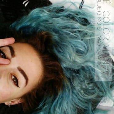 Merci Chloé ! :) - Coloration Cheveux Shocking Blue après 3 mois - Manic Panic - Color-Mania