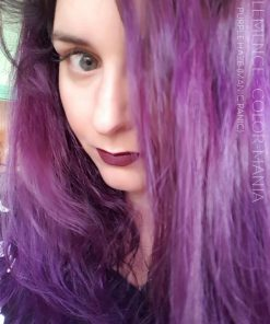 Merci Clemence ! Purple Haze Manic Panic Color-Mania